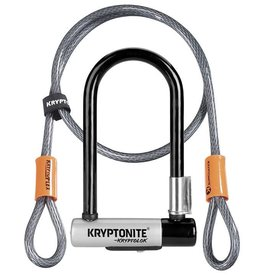 Kryptonite KRYPTOLOK MINI-7 A/ FLEX CABLE 4' NOIR