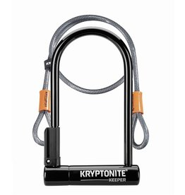 Kryptonite KEEPER 12 STD w/4' CABLE FLEX