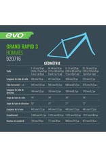 EVO Vélo Hybride - EVO Grand Rapid 3