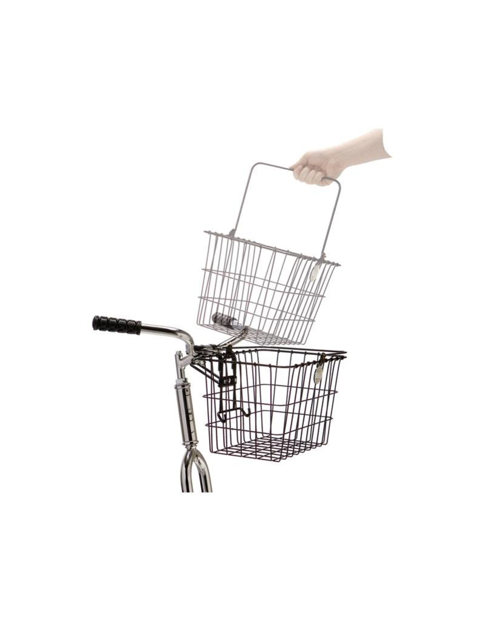 WALD Detachable Front Basket