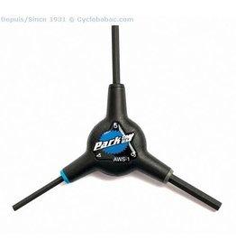 Park tool Clé en Y 4-5-6MM AWS-1C