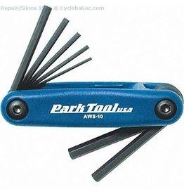 Park tool Allen keys 1.5 to 6mm AWS-10C