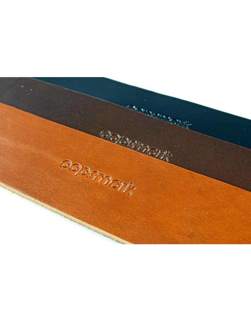 OOPSMARK U lock HOLSTER leather w/rivets