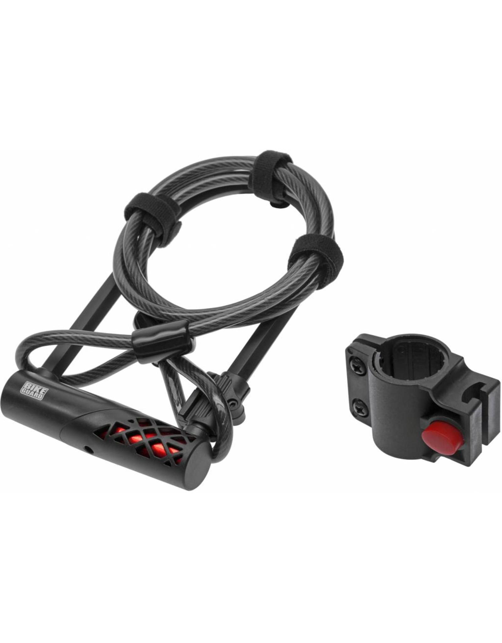 Bikeguard COMBO1320 ULOCK+CABLE