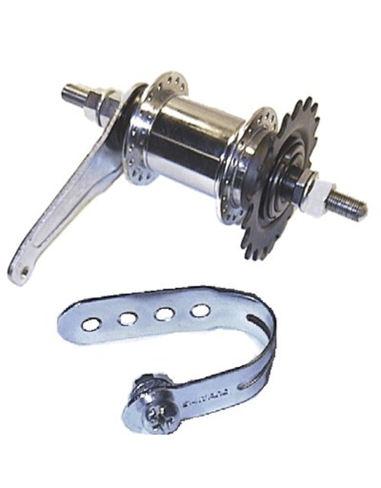 Damco SHIMANO COASTER 700 AR Wheel Silver