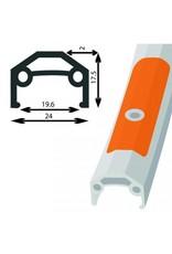 Damco Rear wheel hybrid 700 ALU Cassette 8VIT QR