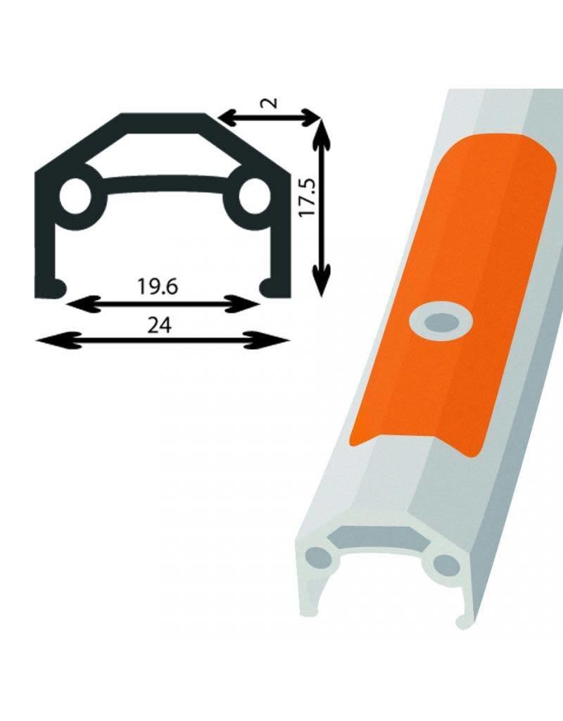 Damco Roue AR Hybride 700 ALU Cassette 8VIT QR