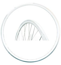Damco Front wheel fixed WHITE TRACK