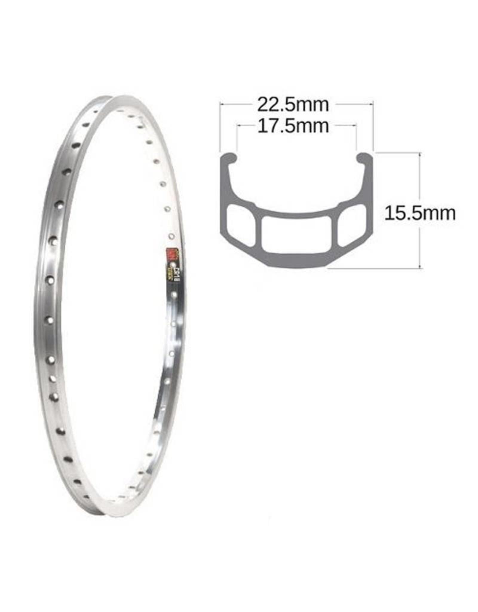 SUN RIMS Rear wheel 27x1-1 / 4 CR18 FW NUT