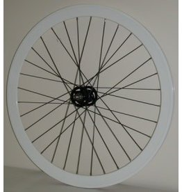 Fixed Front Wheel TRACK White 42MM