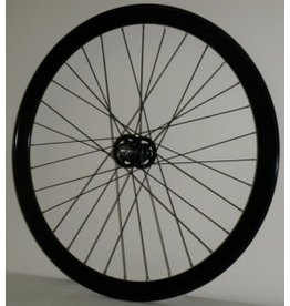 42MM Black TRACK Fixed Front Wheel