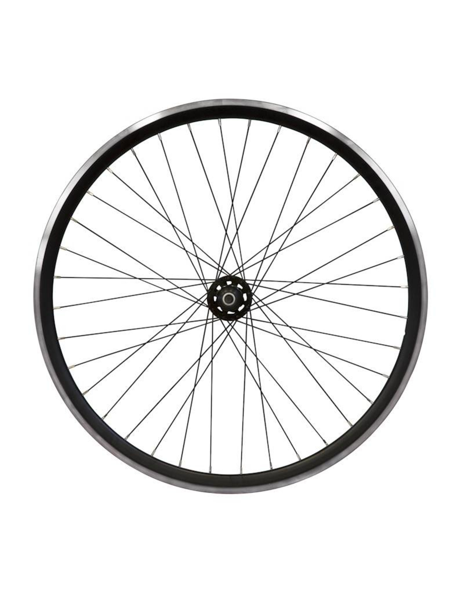 Damco Fixed black track rear wheel