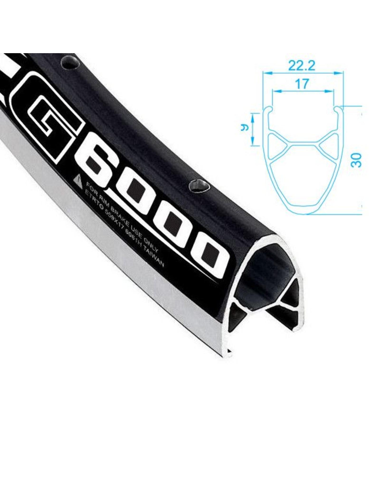 ALEXRIMS 700 G6000 FW Hybrid Rear Wheel Black
