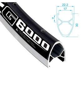 ALEXRIMS Roue AR hybride 700 G-6000 FW Noire