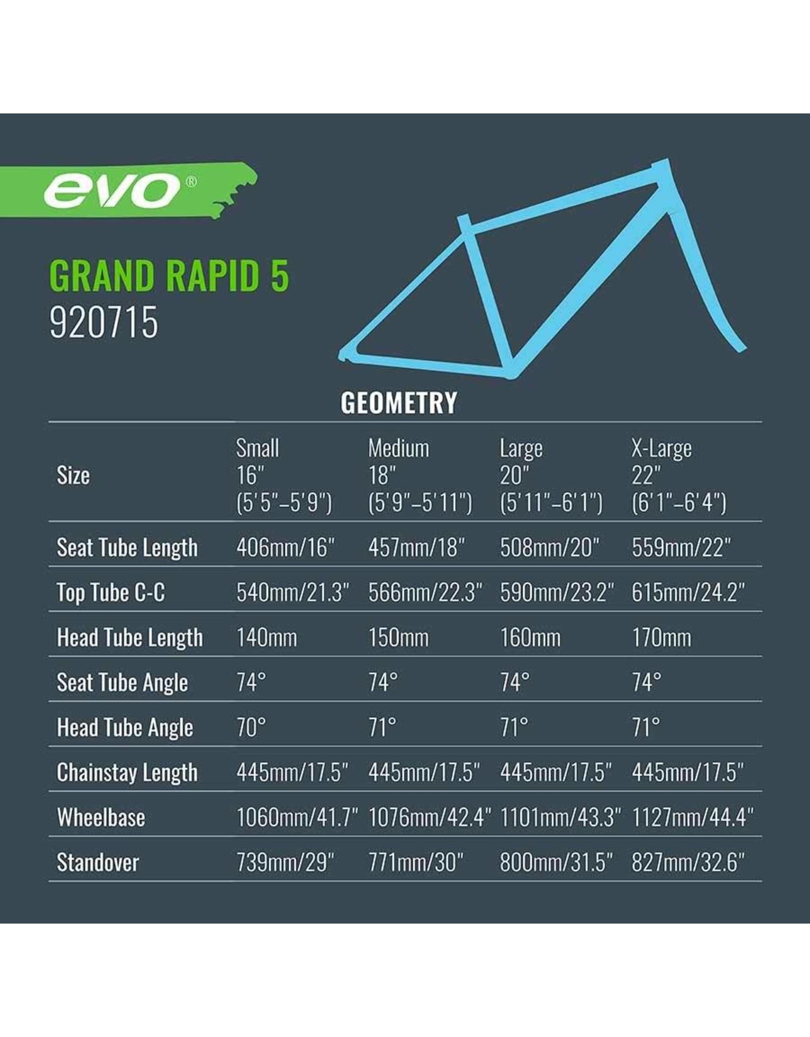 EVO Vélo Hybride - Grand Rapid 5