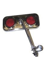 Damco Miroir Chrome 2 Déflecteurs