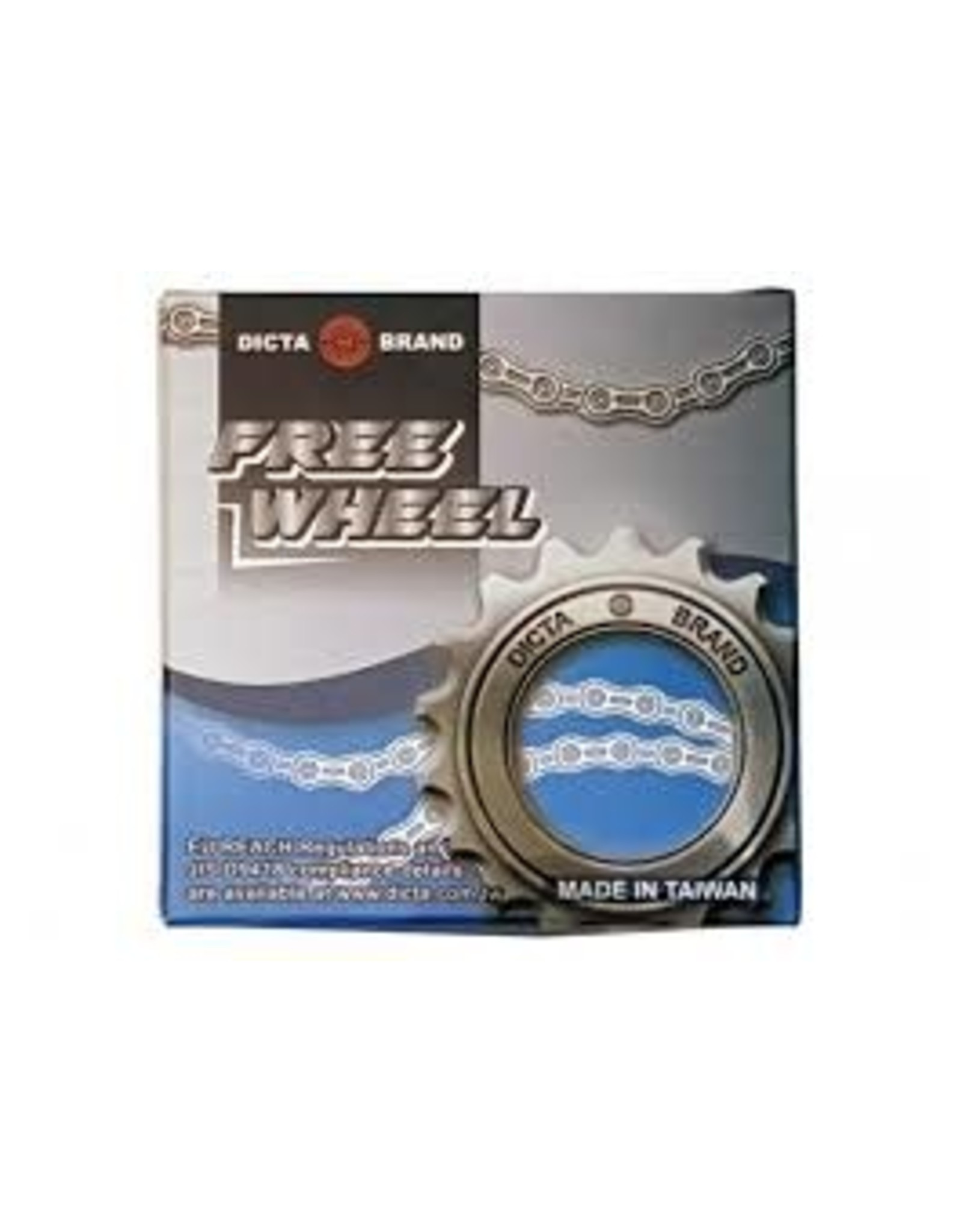 Dicta Brand Freewheel 1/2 x 3/32 ″