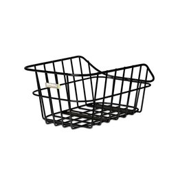 Basil Cento Alu, Rear basket, Matt black