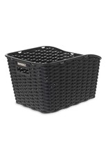 Basil Weave WP, Rear basket, Black