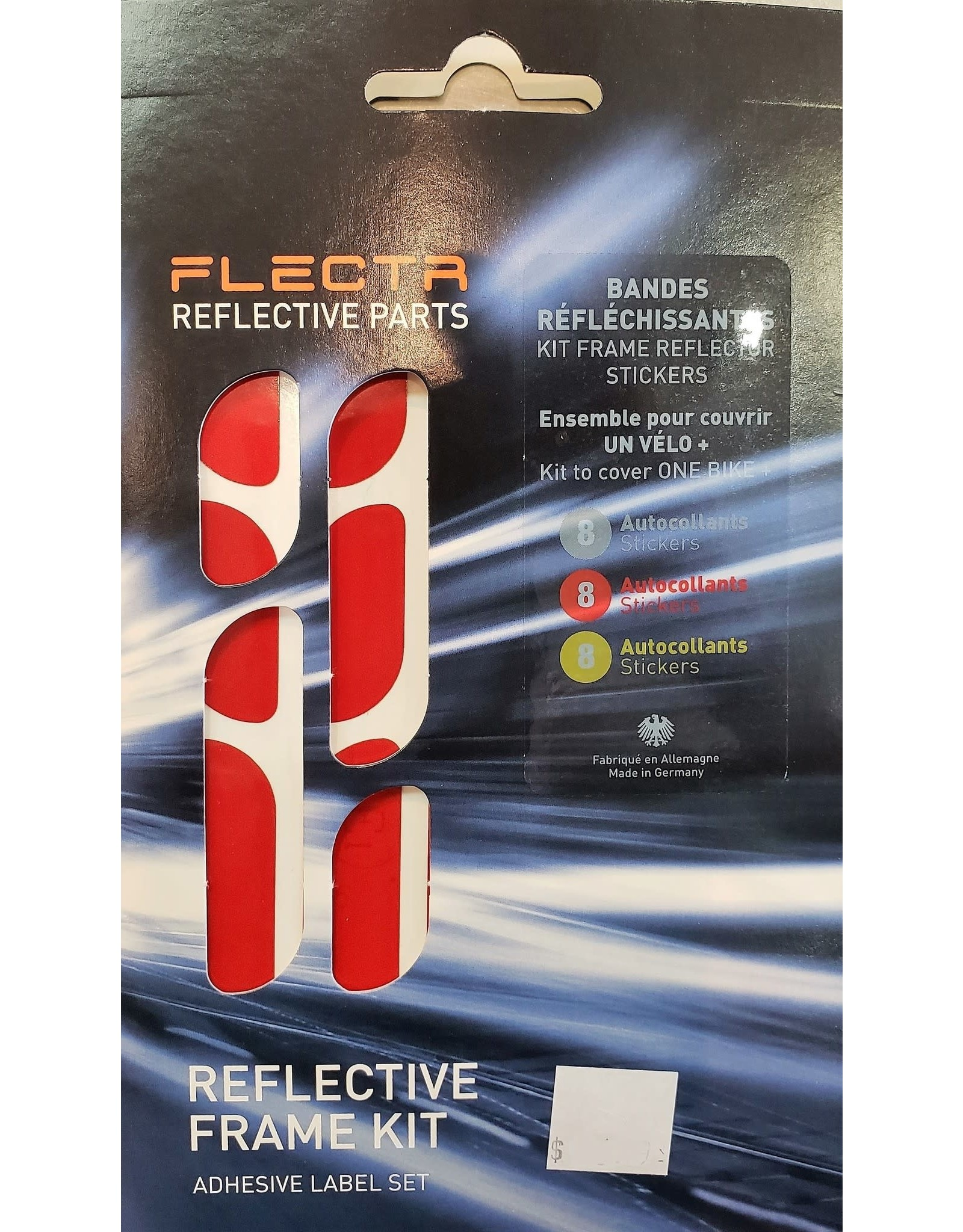 Flectr Reflector kit for frame (Multicolor)