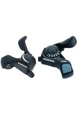 Shimano TX-30 3x7 shift levers