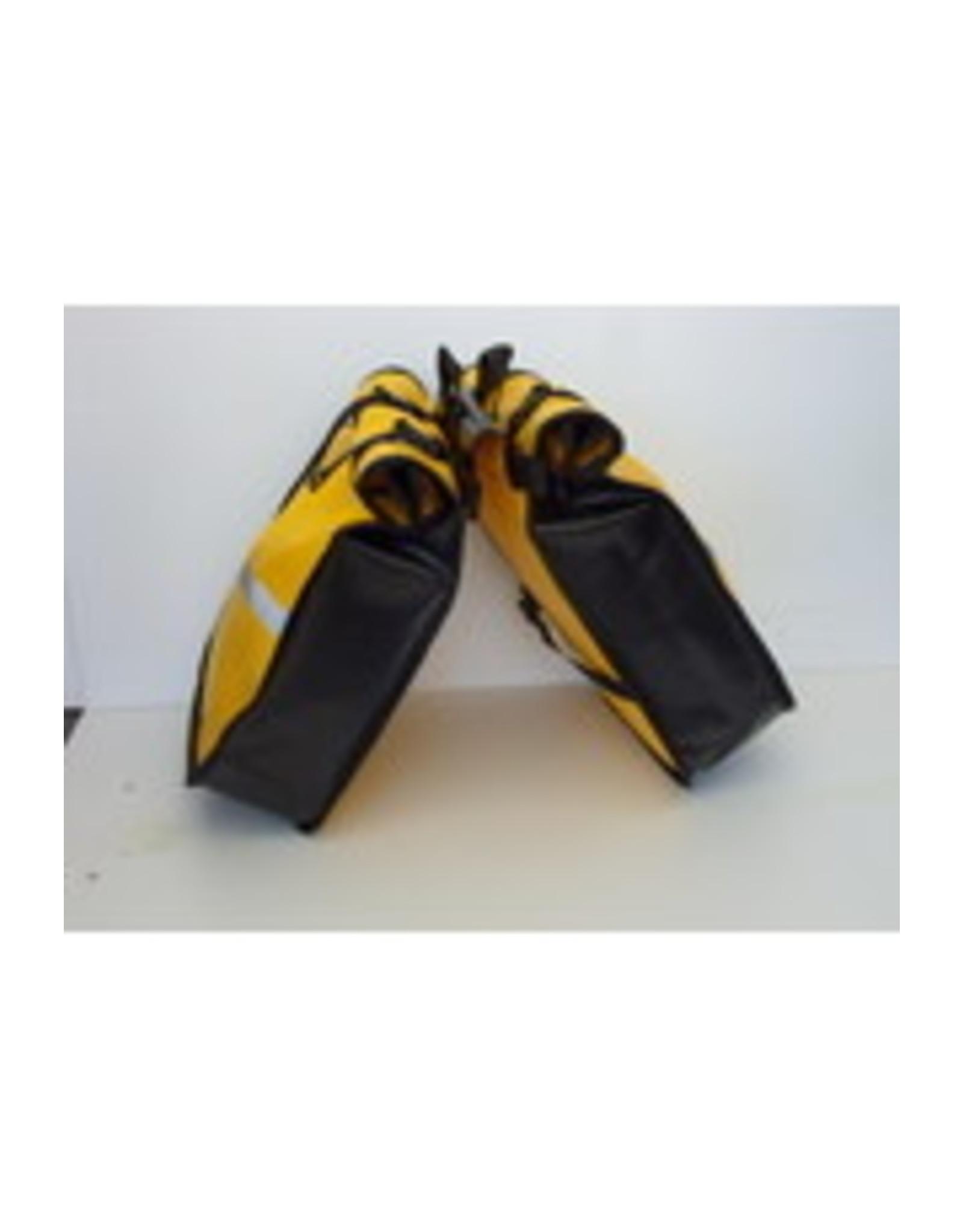 Waterproof double rear pannier