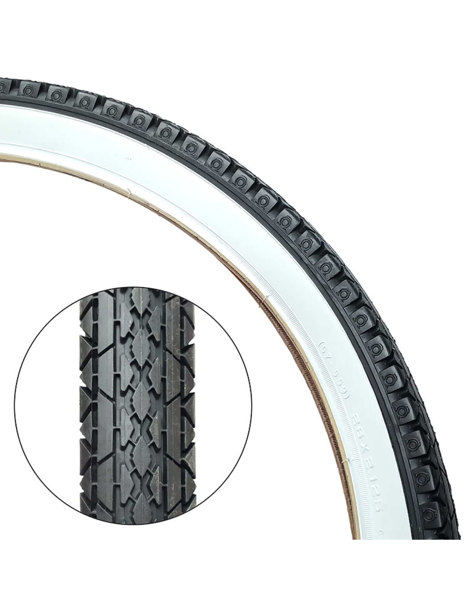 CST Tire 26X2.125 Whitewall