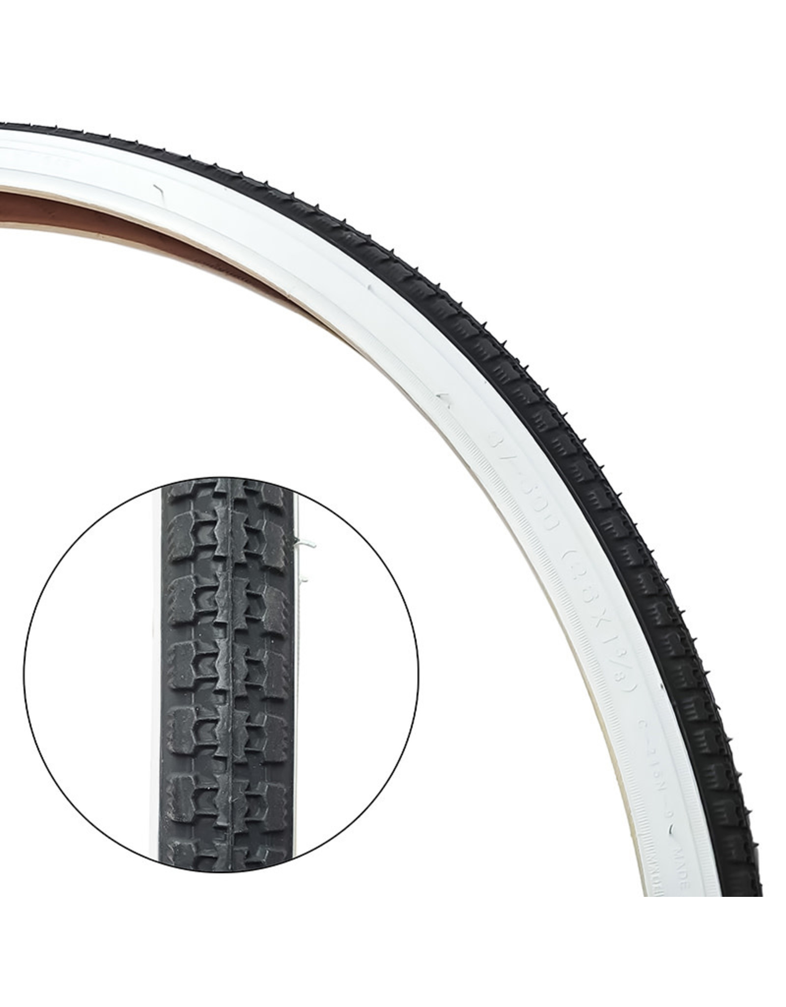 CST 26X1-3 / 8 White Wall Tires