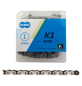 KMC Chaîne K1 1 vit 1/2x1/8 112 maillons