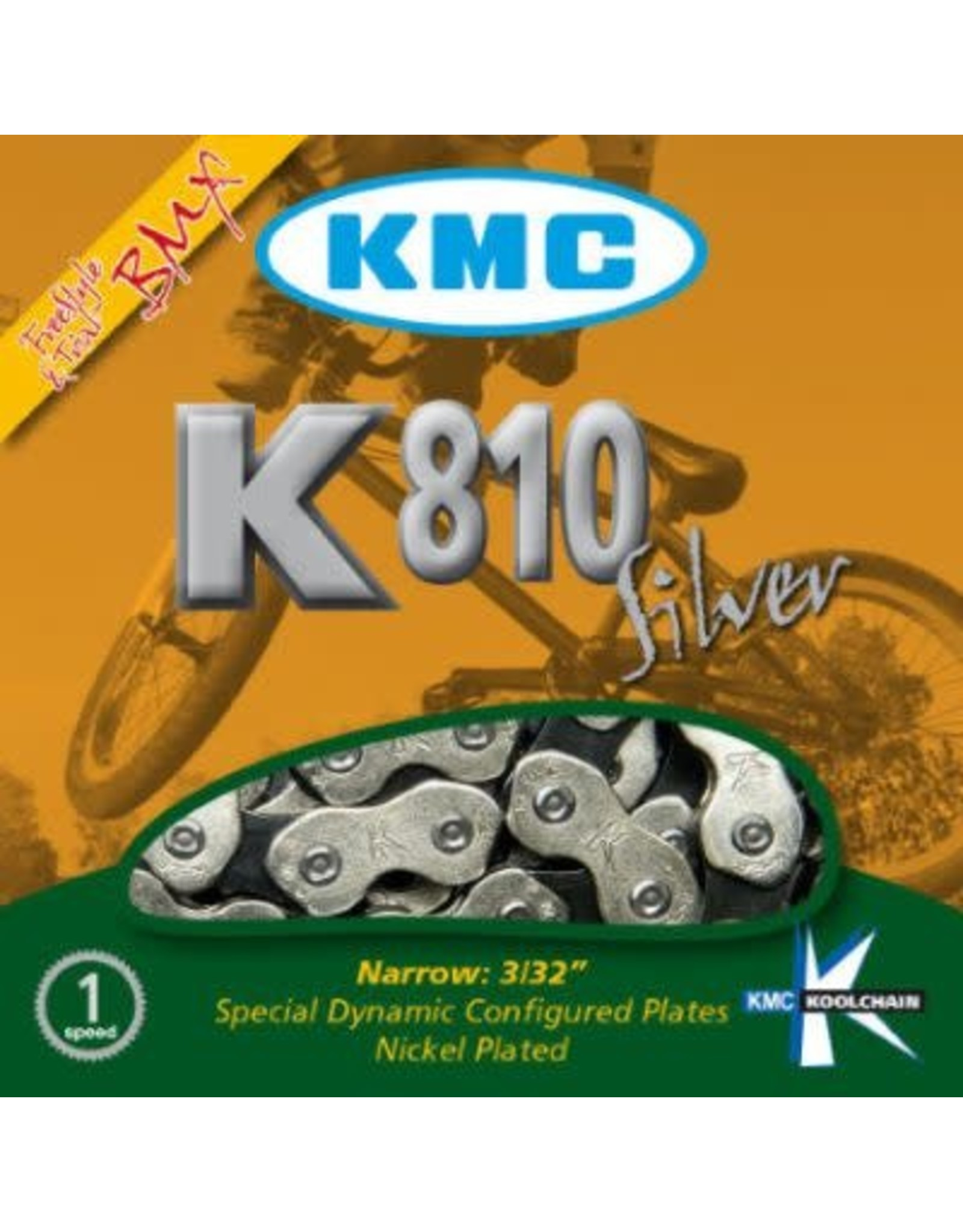 KMC Chain 1/2 x 3/32 - 112 links 1VIT K810