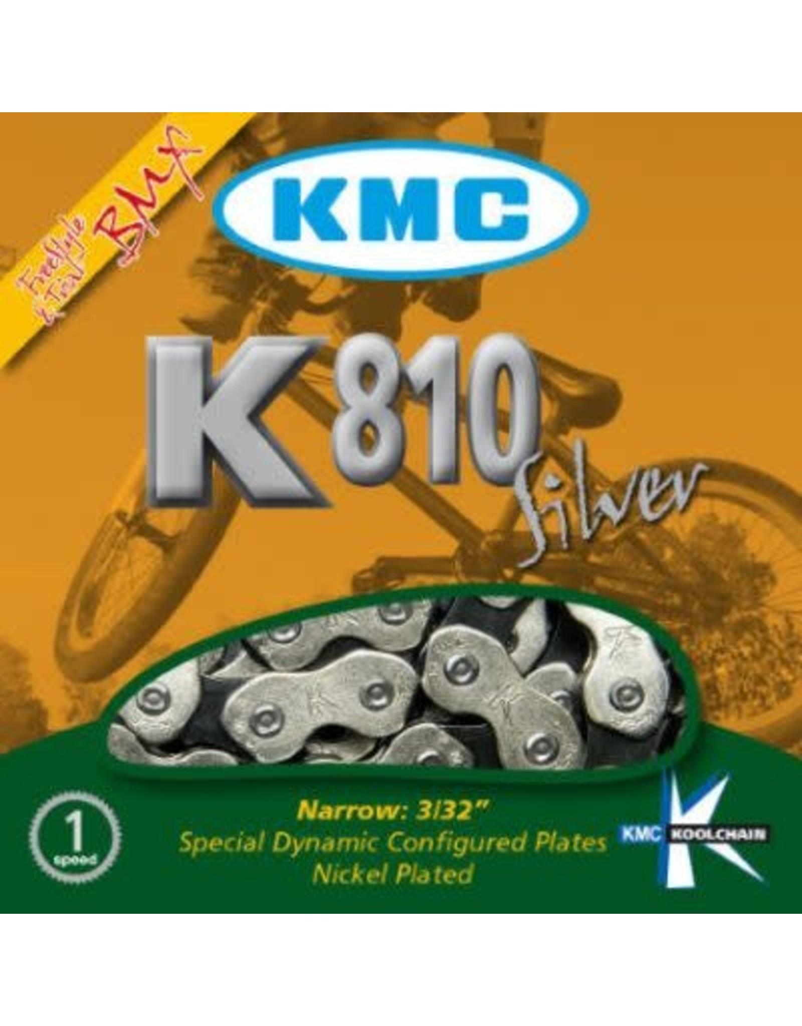 KMC Chaîne 1/2 x 3/32 - 112 maillons 1VIT K810