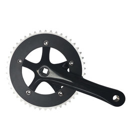 ProWheel SOLID-246T-1 FIX BIKE Black
