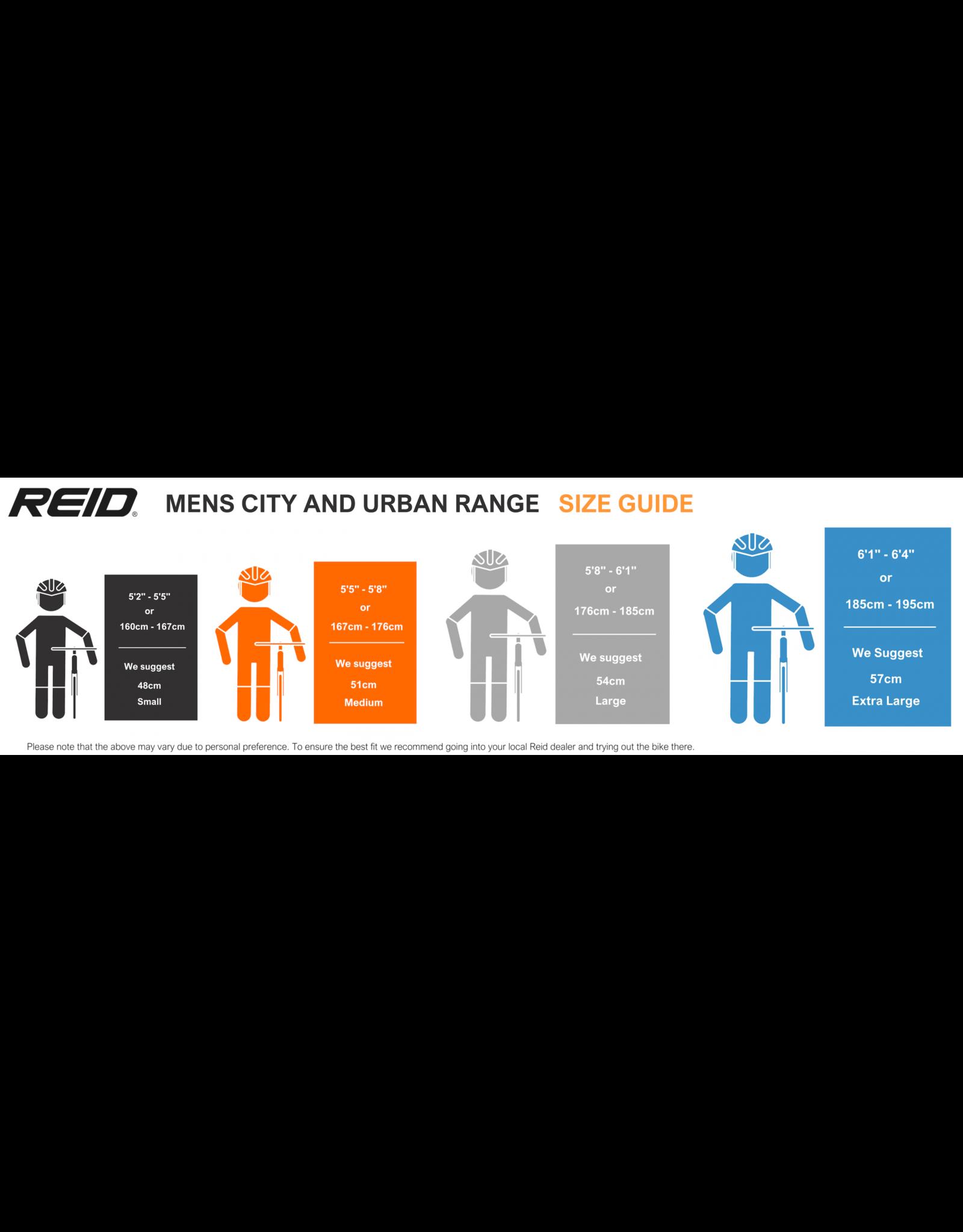 Reid City 1 Charcoal X-Large : 57cm
