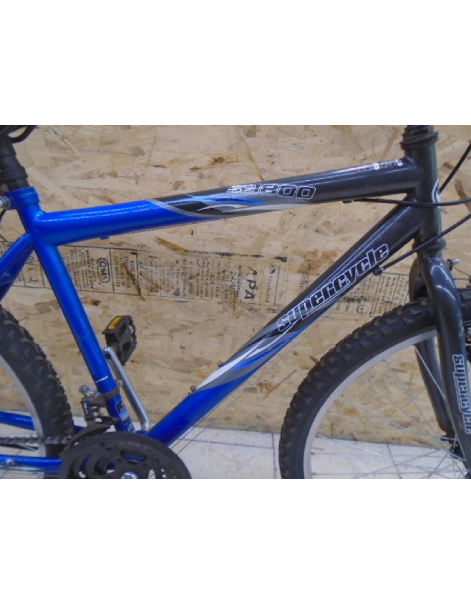 """Vélo usagé de montagne Supercycle 18"""" - 9745"""