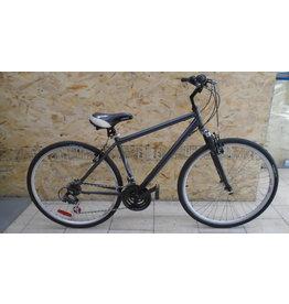 """Vélo usagé hybride gris 18"""" - 9981"""