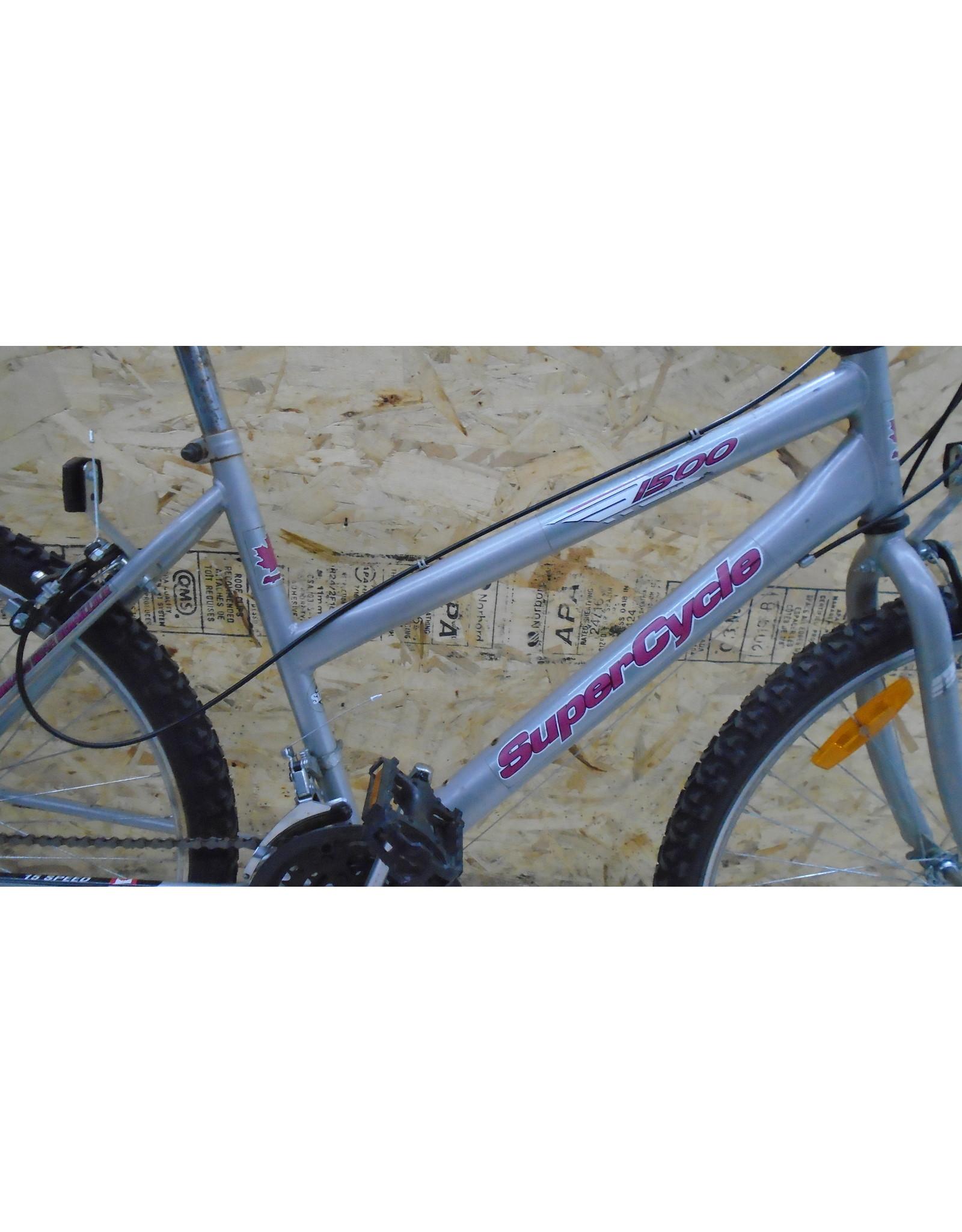 """Vélo usagé de montagne Supercycle 17"""" - 10307"""