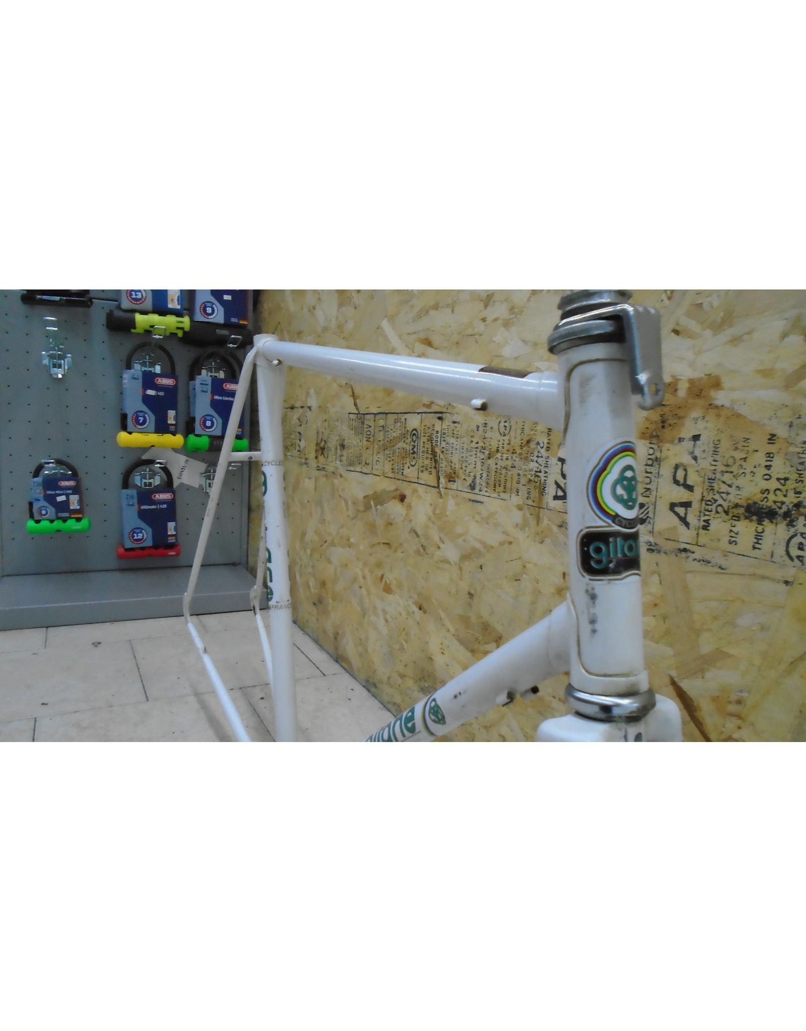 """Cadre usagé en acier de route Gitane 23.5"""" - 10359"""