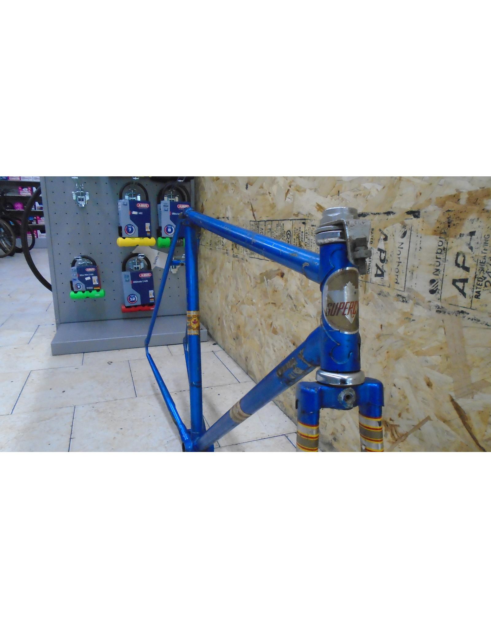 """Cadre usagé en acier de route Supercycle 21.5"""" - 10363"""