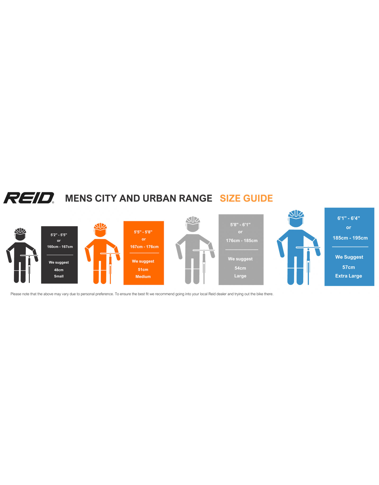 Reid City bike - City 1
