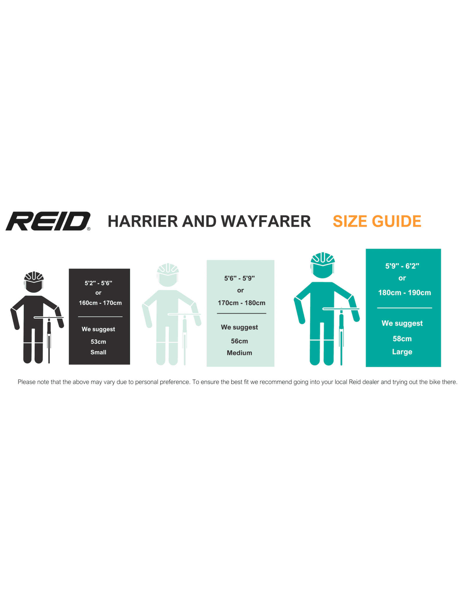 Reid Vélo Single Speed - REID Harrier 1 Noir