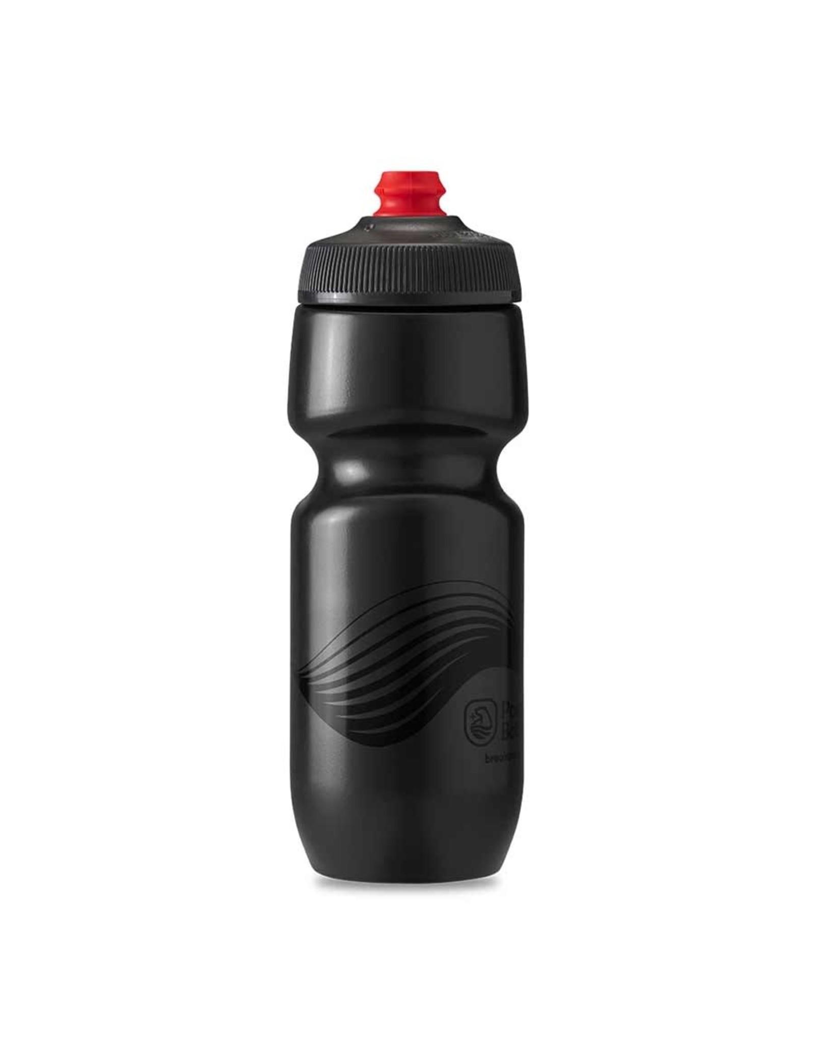 Polar Bottle Breakaway 24oz 710ml / 24oz, Charcoal/Black