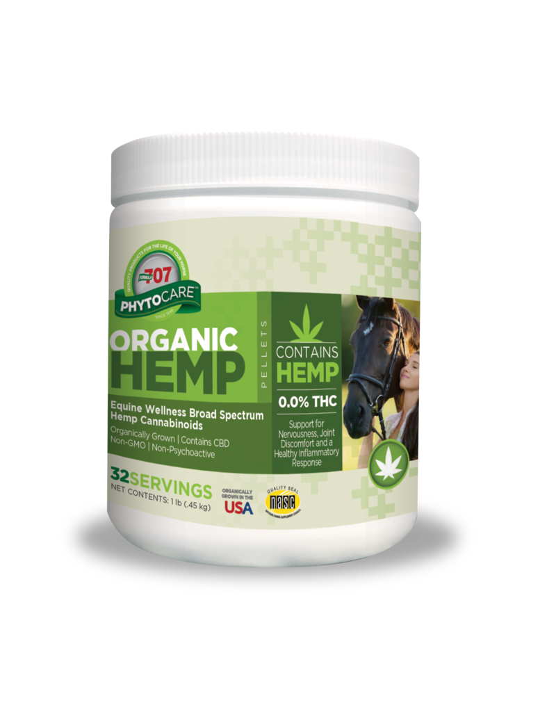 Formula 707 PhytoCare ORGANIC HEMP PELLETS (not available for sale or shipment in California)