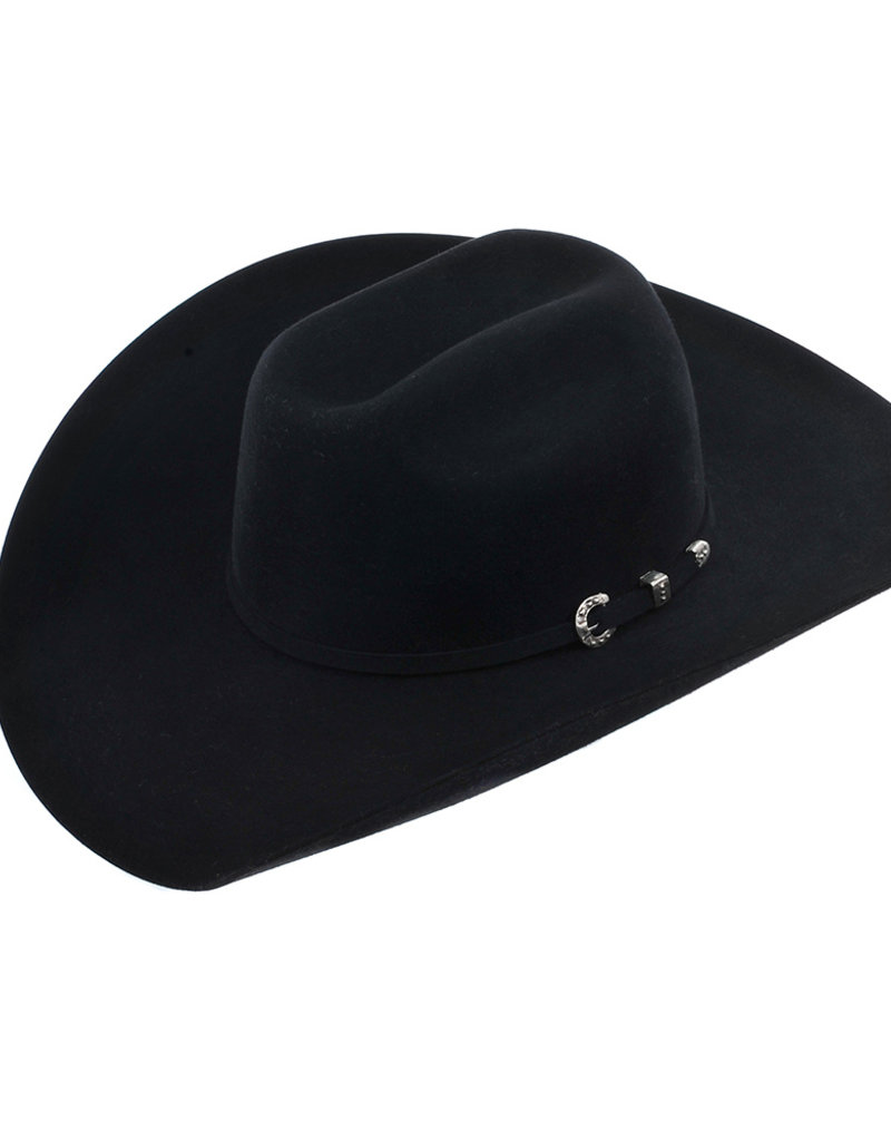 Burns Saddlery Pure Beaver Cowboy Hat