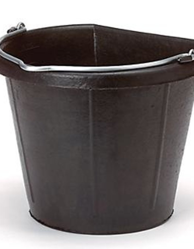 Animal Health Rubber flat back bucket