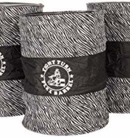 American Heritage Equine Tight Turn Flex Barrels Zebra Print inc shipping