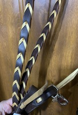 Rafter T Ranch Company Harness Leather Barrel Reins