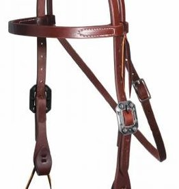 Professional's Choice Browband Headstall W/ 3/4 Arrow Concho