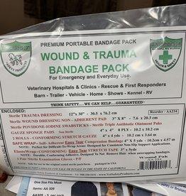 America's Acres Wound & Trauma Bandage Pack
