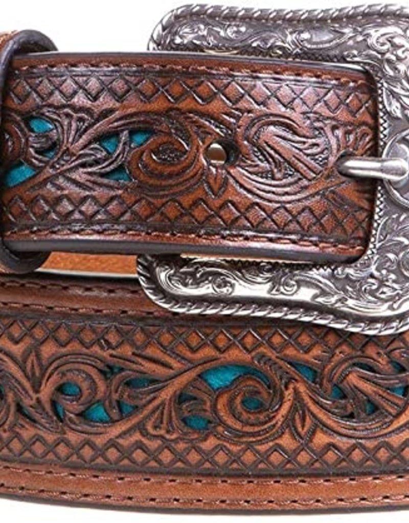 Hooey Scroll Tooling Belt