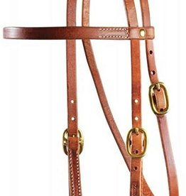 Professional's Choice Headstall Brow/Snap Cheeks